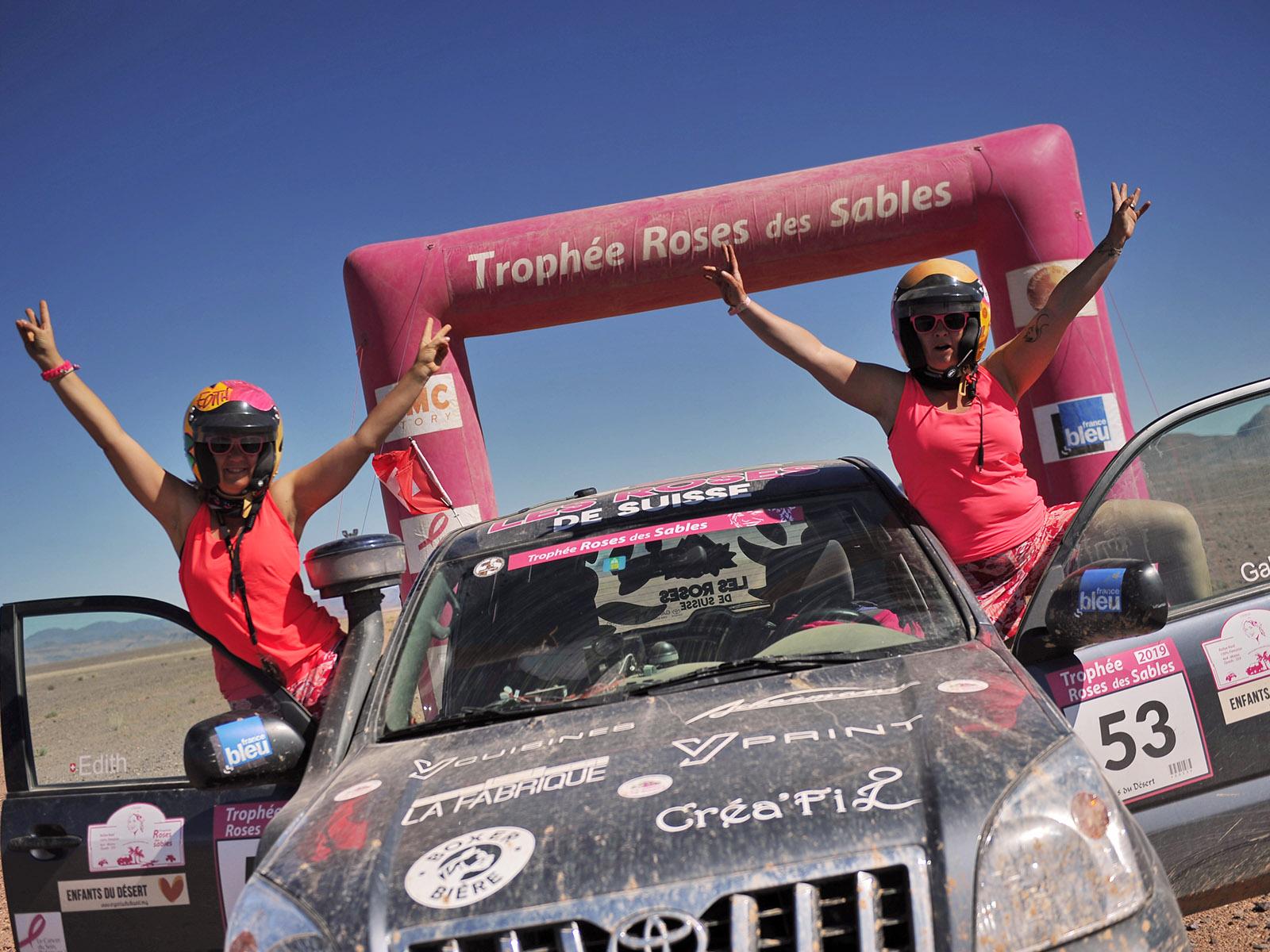 Trophée Roses des Sables, unévénement 100% féminin accessible à toutes
